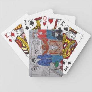murdered bigfoot 1910 deck of cards