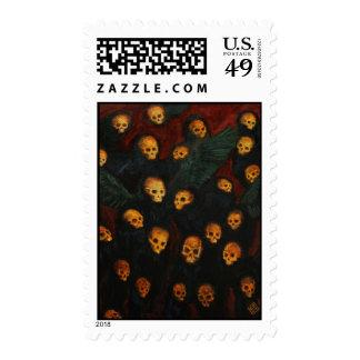 Murderwall Stamp