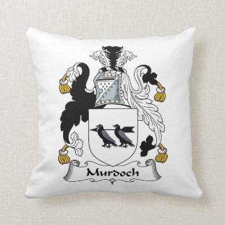 Murdoch Family Crest Throw Pillow