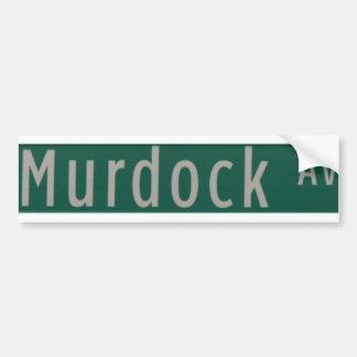 Murdock Ave street sign Bumper Sticker