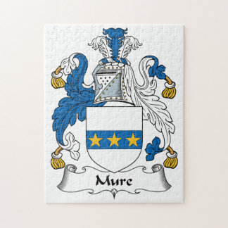 Mure Family Crest Jigsaw Puzzles