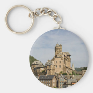 Muret le Chateau Basic Round Button Keychain