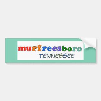 Murfreesboro Tennessee Bumper Sticker