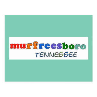 Murfreesboro Tennessee Postcard