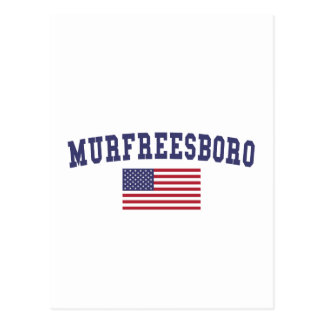Murfreesboro US Flag Postcard