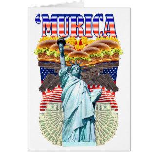 'MURICA! American pride, liberty lovin' folks wear Card