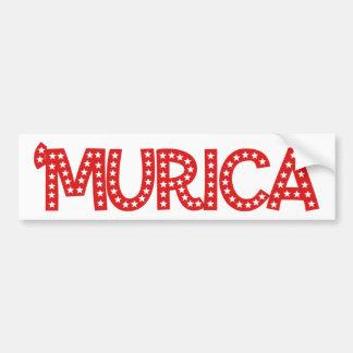 'Murica Car Bumper Sticker