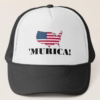 Murica Flag Trucker Hat