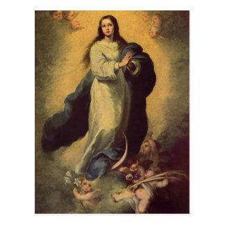 Murillo, Bartolom? Esteban Perez Maria Immaculata  Postcard