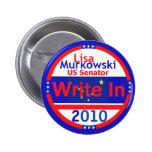 MURKOWSKI escriben en botón Pin