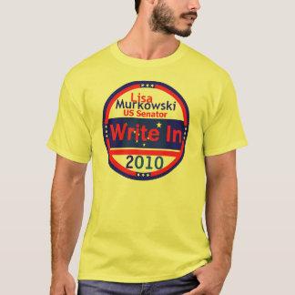 MURKOWSKI Write In T-Shirt