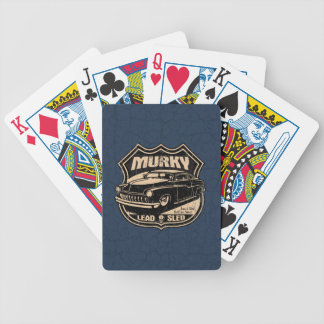 Murky Lead Sled Bicycle Playing Cards