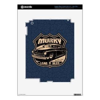 Murky Lead Sled iPad 3 Skins