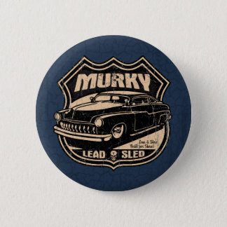 Murky Lead Sled Pinback Button