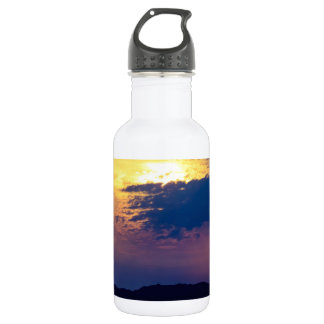 Murlough Beach Early Morning Stainless Steel Water Bottle