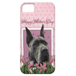 Murmurar-Etiqueta - Rosa Tulpen - Deutsche Dogge - iPhone 5 Funda