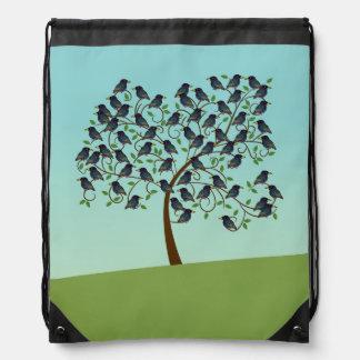 Murmuration de Starlings Mochila