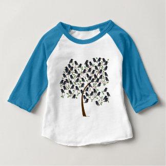 Murmuration of Starlings Baby T-Shirt
