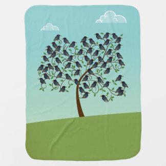 Murmuration of Starlings Receiving Blanket