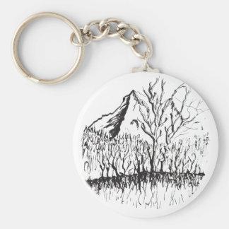 Murmurs the mountain keychain