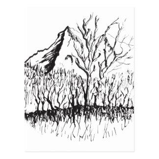 Murmurs the mountain postcard