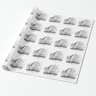 Murmurs the mountain wrapping paper