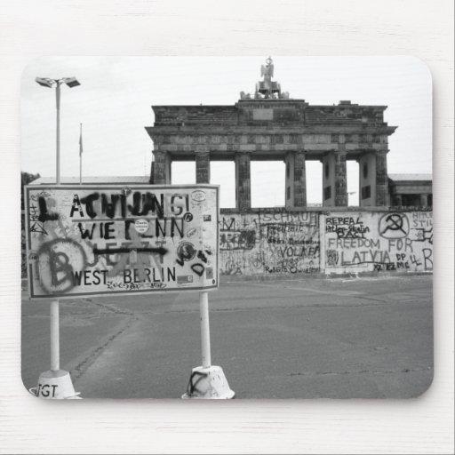 Muro de Berlín Alfombrillas De Raton