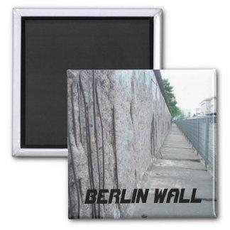 Muro de Berlín, Berlín, Alemania Imán Cuadrado