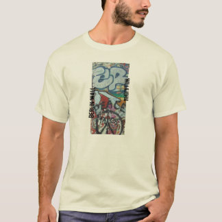 muro de Berlín de la camiseta