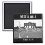 Muro de Berlín Imán Cuadrado