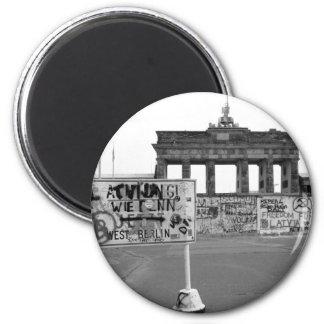 Muro de Berlín Imán Redondo 5 Cm