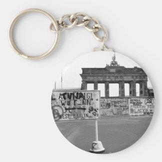 Muro de Berlín Llavero Redondo Tipo Pin