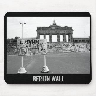 Muro de Berlín Tapetes De Raton