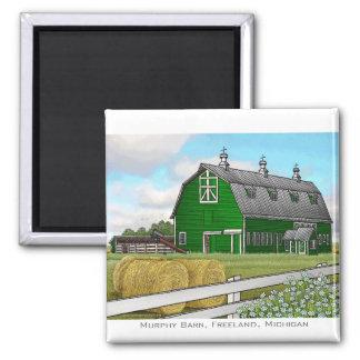 Murphy Barn 2 Inch Square Magnet