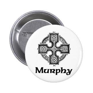 Murphy Celtic Cross Pinback Button