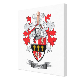 Murphy Coat of Arms Canvas Print