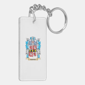 Murphy Coat of Arms - Family Crest Rectangle Acrylic Keychains
