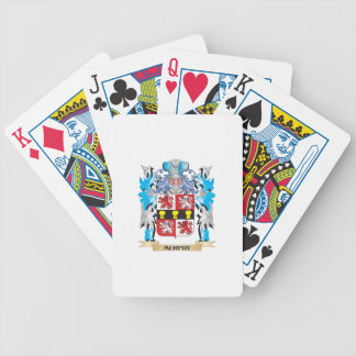 Murphy Coat of Arms - Family Crest Bicycle Playing Cards