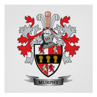 Murphy Coat of Arms Poster