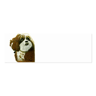 MURPHY doggie jGibney The MUSEUM Zazzle Gifts Double-Sided Mini Business Cards (Pack Of 20)