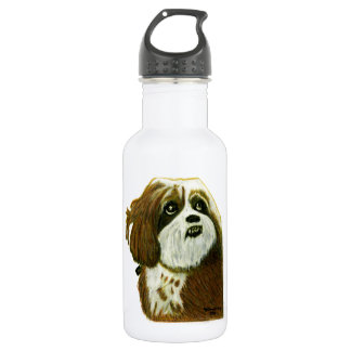 MURPHY doggie jGibney The MUSEUM Zazzle Stainless Steel Water Bottle