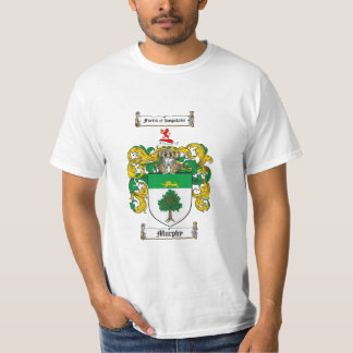 Murphy Family Crest - Murphy Coat of Arms T-Shirt