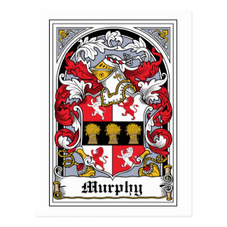 Murphy Family Crest Postcards