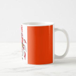 Murphy In Irish Flag Classic White Coffee Mug