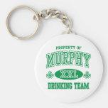 Murphy Irish Drinking Team Keychain