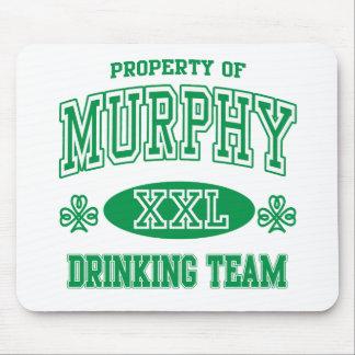 Murphy Irish Drinking Team Mouse Pad