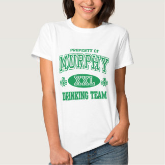 Murphy Irish Drinking Team T-shirt
