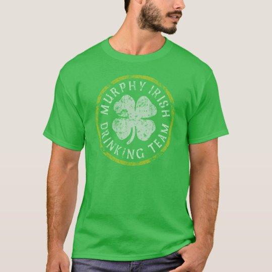 Murphy Irish Drinking Team t shirts