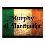 Murphy Irish Flag Postcard
