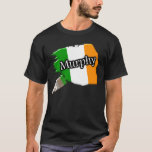 Murphy Irish Paint Brush Flag Shirt